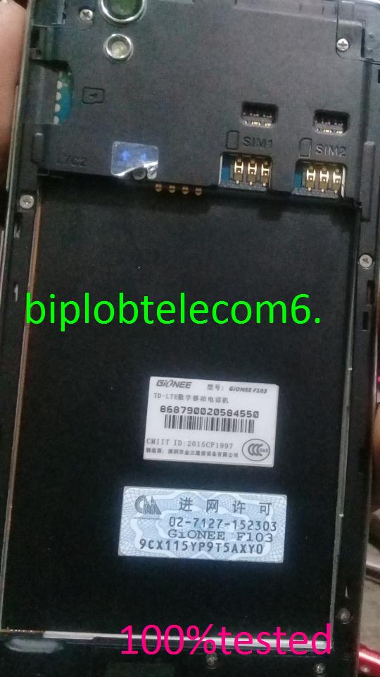 BipLob TeleCom: GiONEE F103 FLASH FILE MT6735 5 0 2 FIRMWARE