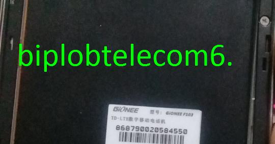 Gionee F103 Pro Database File