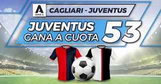 Paston Megacuota Cagliari vs Juventus 29-7-2020
