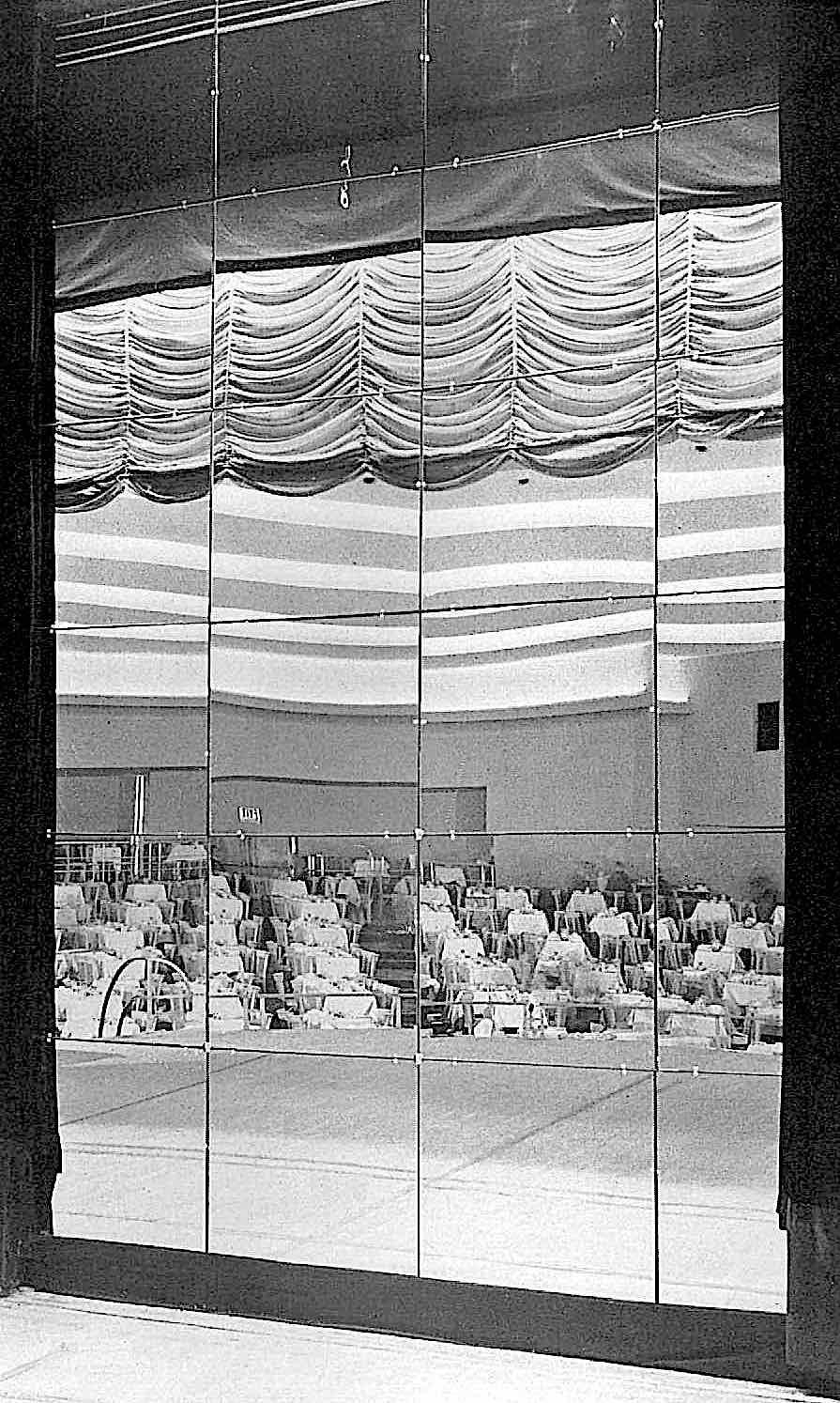 a 1946 nightclub stage mirror