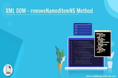 XML DOM - removeNamedItemNS Method