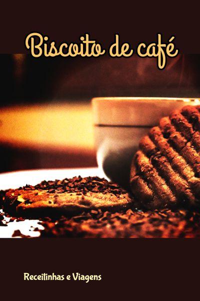 Receita de biscoito de café