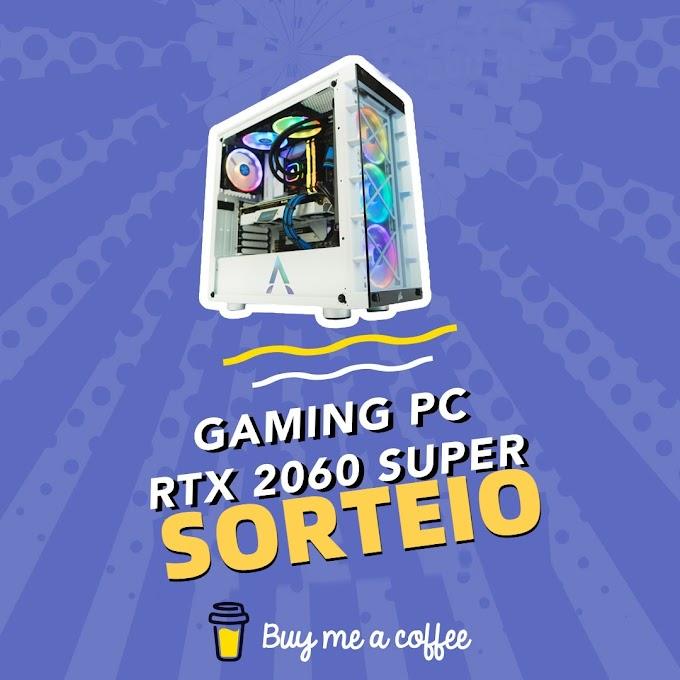 Sorteio de um PC Gamer | Ryzen 5 3600 - GeForce RTX 2060