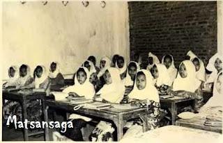 Suasana Pendidikan Madrasah di lingkungan Pondok Pesantren Mahadut Tholabah
