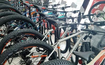 pusat jual beli sepeda, sparepart, aksesoris terlengkap di Semarang
