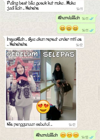 testimoni i am sexy lady whitening & burn fat lotion