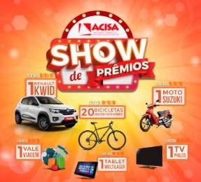 Promoção ACISA Santo André Show de Prêmios 80 Anos - Prêmios, Participar