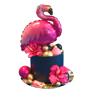 Flamingo Hat Box Design By Sue Bowler - www.suebowler.com