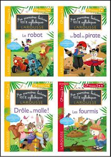 première lectures CP Larousse