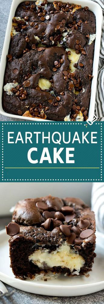 Easy Earthquake Cake Recipe