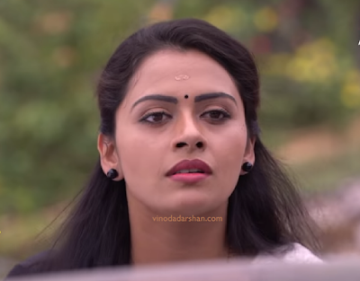 Actress Dhanya Marya Varghese as Seetha in  Seethakalyanam serial on Asianet