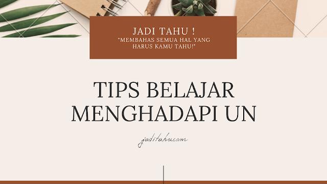 tips hadapi ujian nasional - jaditahu.com