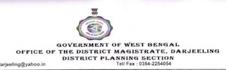 Vacancy at District Planning Section Darjeeling