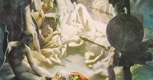 Bagno Turco Ingres : Giuseppe lucio fragnoli news il sogno di ossian di ingres