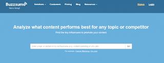 Backlink Checker Tools Gratis BuzzSumo