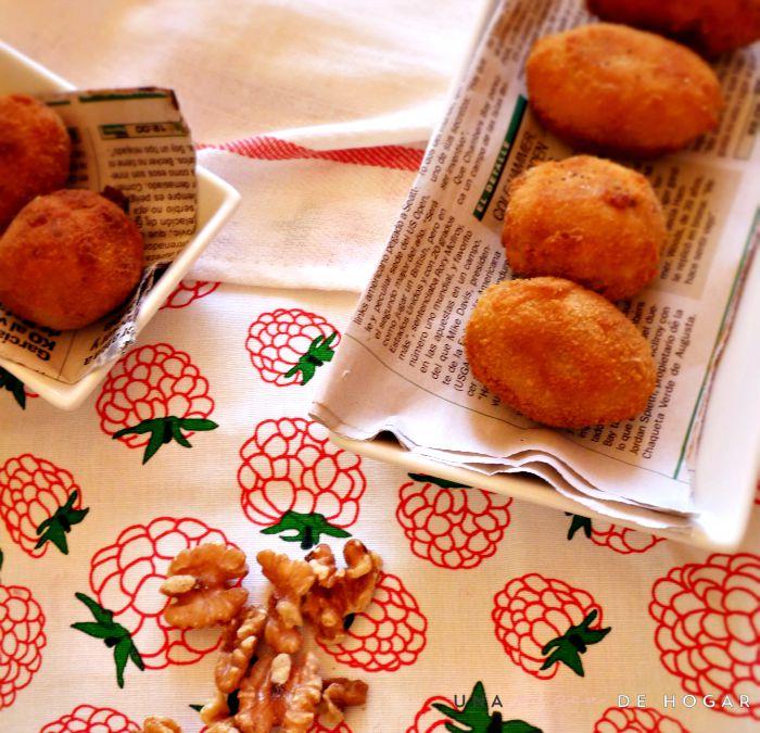 croquetas de pollo y nueces