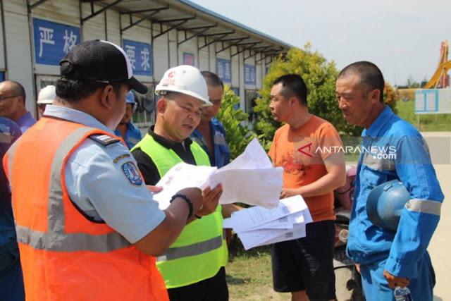 Sembilan Pekerja China Lari Saat Razia Imigrasi di Bengkulu