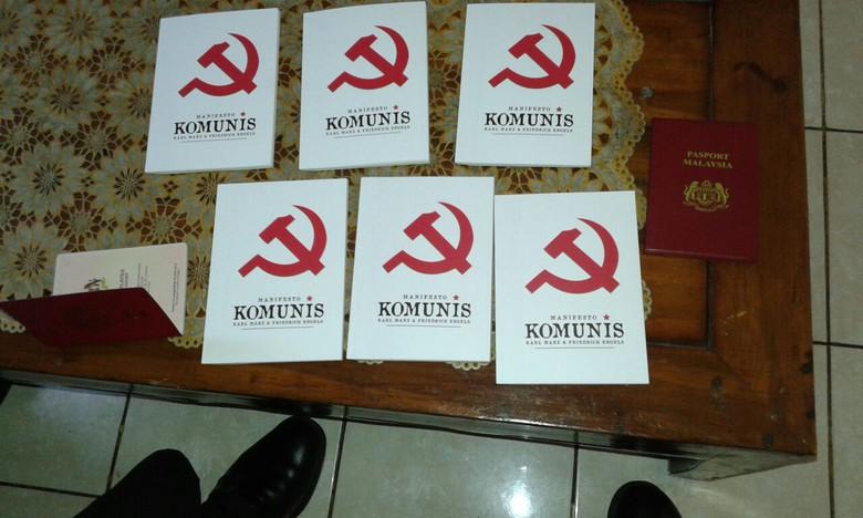 Polisi Sita 6 Buku Berlogo Palu Arit di Pameran JCC Senayan