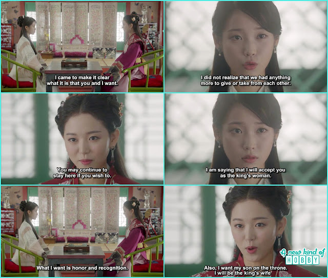 yeon hwa told hae soo the instead of her she will become the king wife - Scarlet Heart Ryeo - Episode 17 - 18 (Eng Sub)