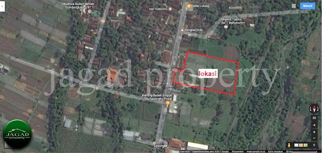 Tanah Tepi jalan Palagan Km 12, Sleman, Yogyakarta