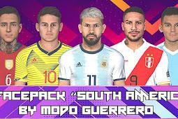 Sudamericana Facepack 2020 - PES 2017