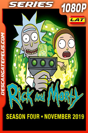 Rick y Morty (2019) Temporada 4 1080p WEB-DL Latino – Ingles
