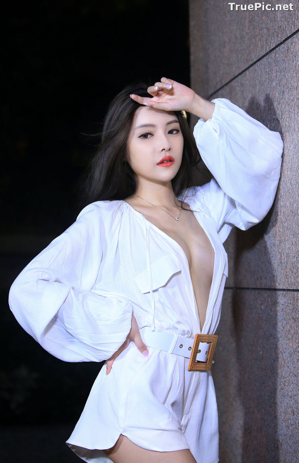 Image Taiwanese Model – 莊舒潔 (ViVi) – Sexy and Pure Baby In Night - TruePic.net - Picture-70
