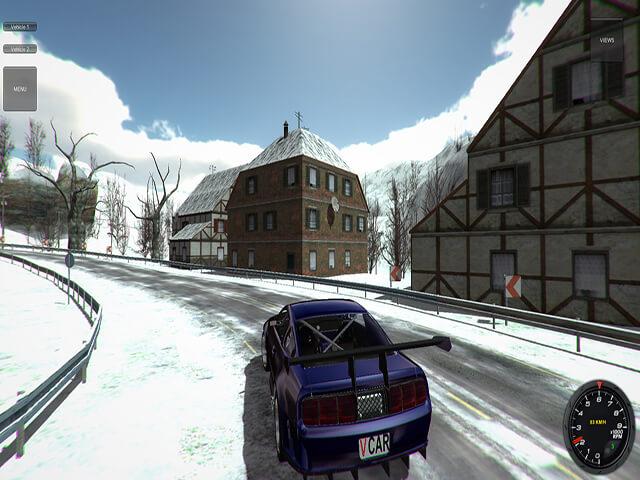 لعبة محاكاة قيادة السيارات