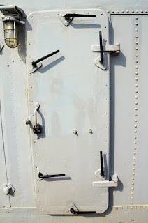 Watertight door installed, photo credit Pixabay