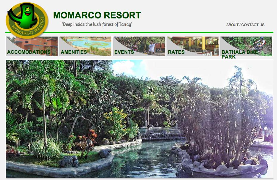 Resorts In Rizal Philippines Momarco Resort In Tanay Rizal