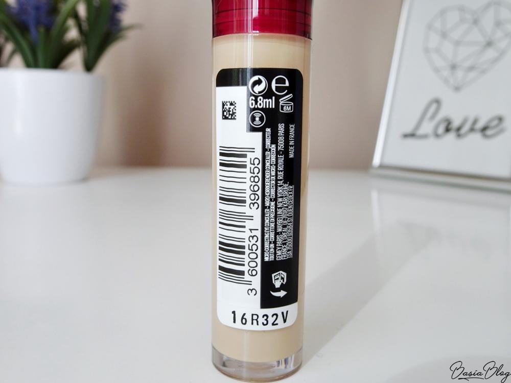 Korektor Maybelline Instant Anti-Age Eraser Concealer 06 Neutralizer swatch