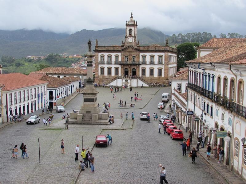 Museu da Inconfidência, Praça Tiradentes - Ouro Preto