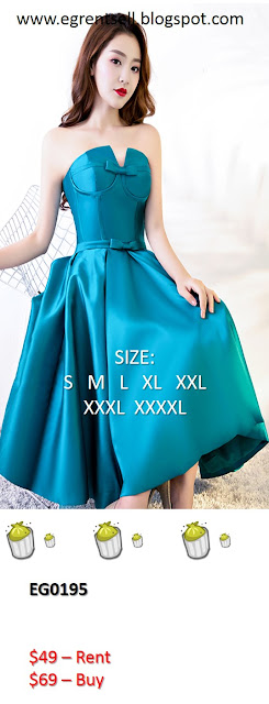 Evening Gown Rent Sell