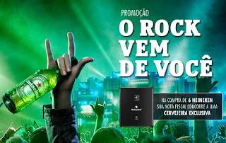 Promoção Heineken o Rock Vem de Você
