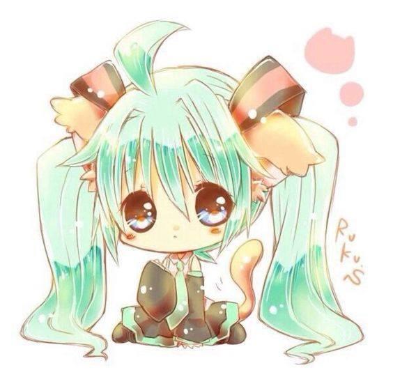 Avatar chibi nhân vật nữ cực dễ thương cho facebook