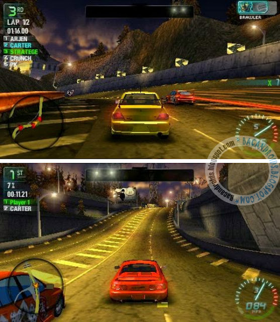 need for speed carbon psp iso
