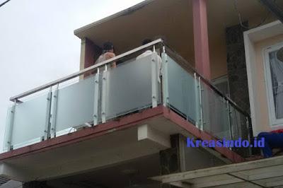 Jasa Railing Balkon Stainless Kaca di Jabodetabek dan sekitarnya