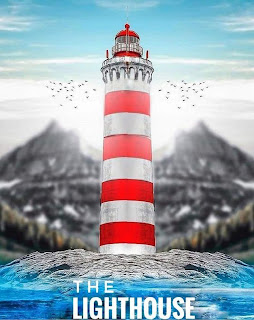 The Lighthouse CB Background Free Stock Photo