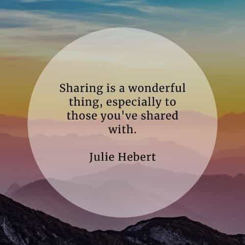 Sharing quotes that'll make your life extra meaningful