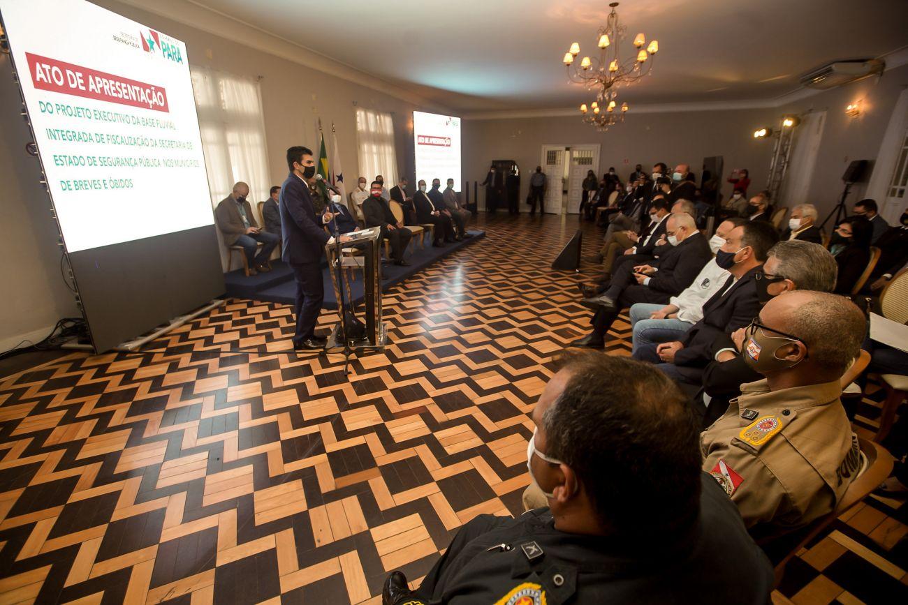 Com novo projeto, governo Helder vai reimplantar base de fiscalização em Óbidos