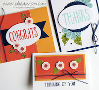 August 2017 Paper Pumpkin Giftable Greetings Alternative Card Idea ~ Stampin' Up! ~ www.juliedavison.com