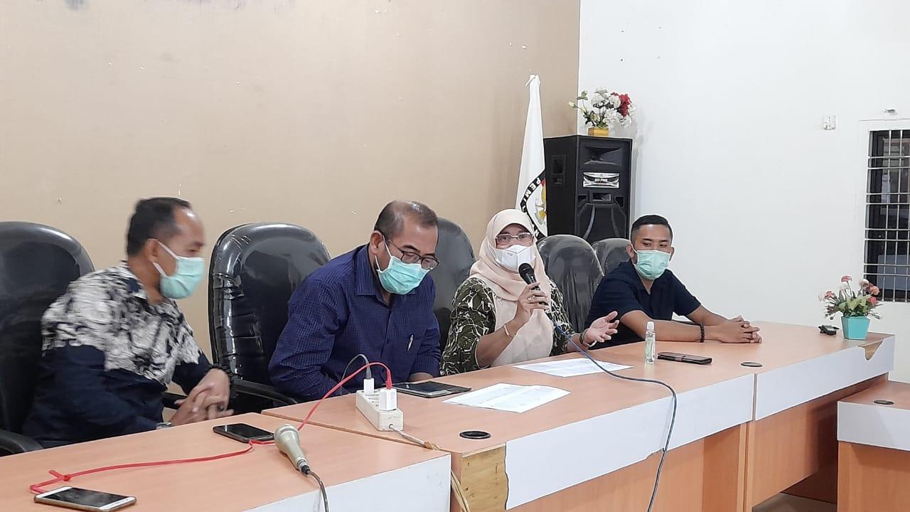 Tinjau Kesiapan PSU, Anggota KPU RI Kunjungi KPU Kabupaten Labuhanbatu
