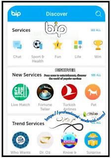 تحميل وتنزيل تطبيق BiP masenge آخر إصدار لأجهزة الأندرويد مجانا.