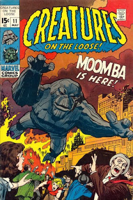 Creatures on the Loose #11, Moomba