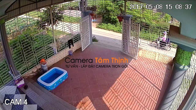 Lắp đặt camera quan sát ở Châu Thành