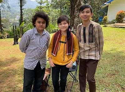 Andro Trinanda dan 2 Temannya