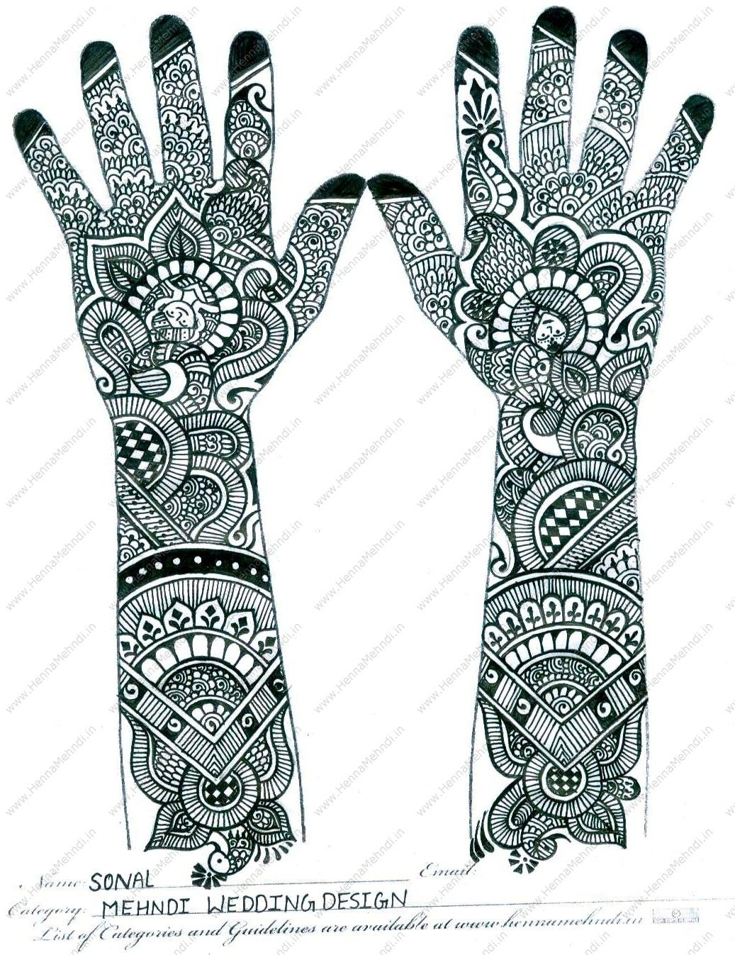 Henna Stencils: Fashion,Styles And Trends