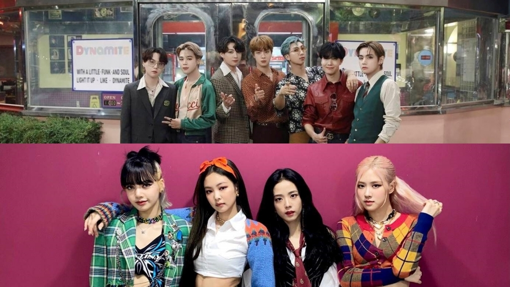 BTS and BLACKPINK Dominate the Top 3 of The Billboard Global 200 Chart