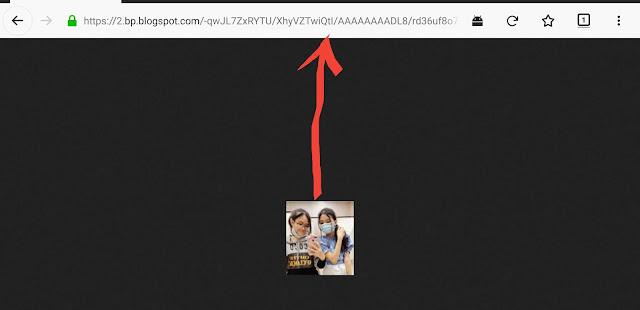 mode penuh gambar profile blogger dan link