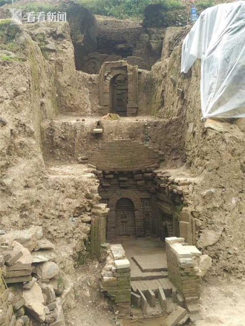 Song Dynasty tombs found in NW China